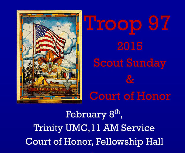 2015 Scout Sunday and Court of Honor