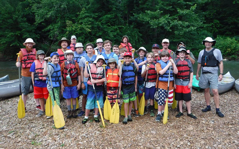 Grimes Canoe Adventure 2016