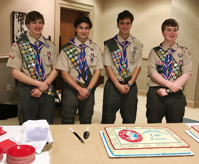 Eagle Court of Honor Ceremony — January 29, 2017