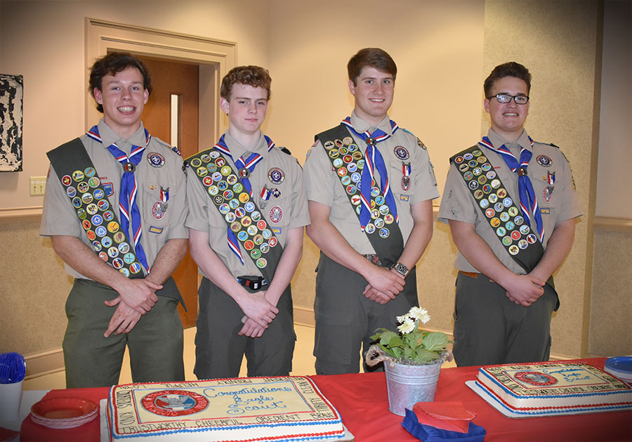 Troop 97 Eagle Court of Honor Ceremony — March 19, 2017