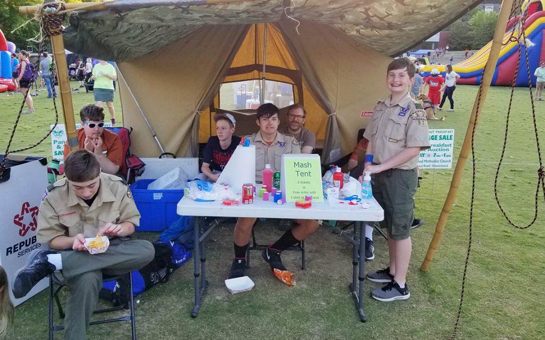 Troop 97 Mash Tent