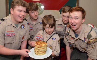 Troop 97 Annual Pancake Breakfast, Garage Sale, & Silent Auction, May 11, 2019